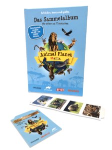 Animal planet mania album and stickers